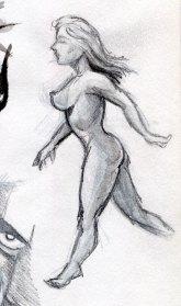 Lady walking
