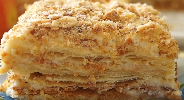 Торт Наполеон — рецепт классический в домашних условиях с фото