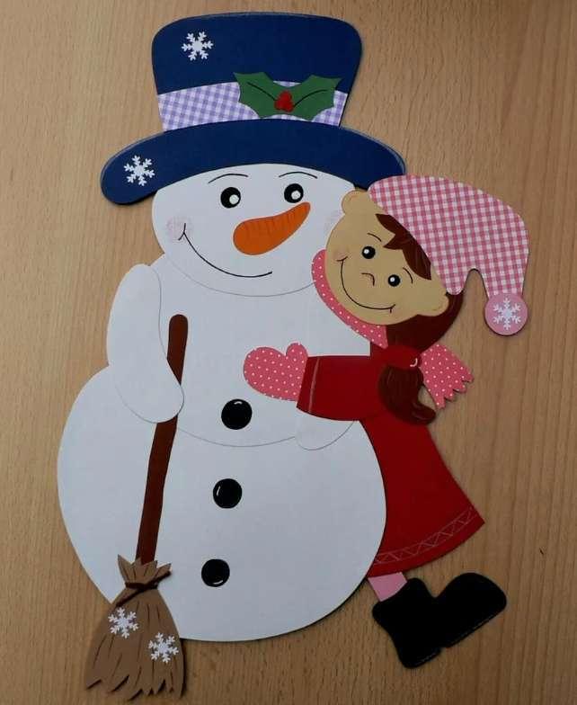 Cô gái và người tuyết
