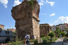 Only small remains of Byzantium and earlier remain