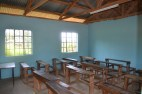 A completed classroom
