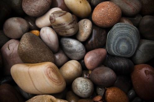 Beautiful pebbles