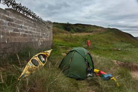 Camp at Aberdeen