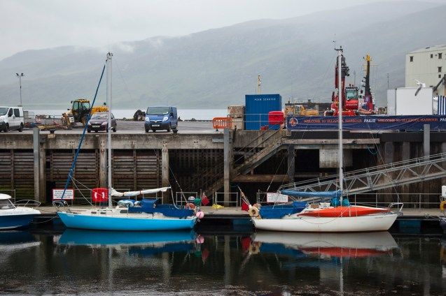 Loading up to go in Ullapool