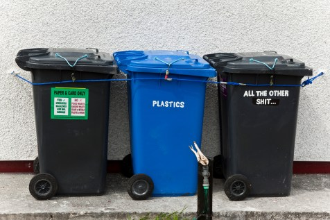 They even recycle on Eriskay!