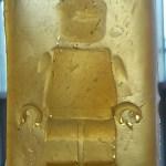 Lego man cast in latex