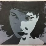 Maya Deren - At Land painting 1