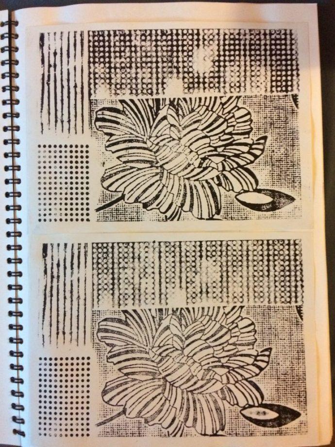 Practice prints 3 & 4