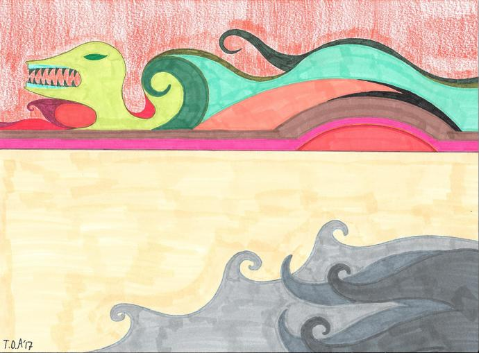 Mind Textures V - Sandstorm