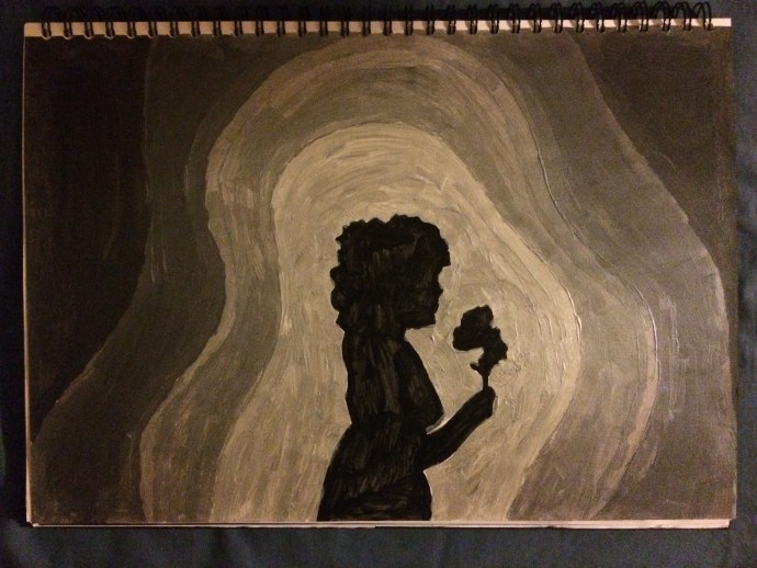 Maya Deren Painting 1