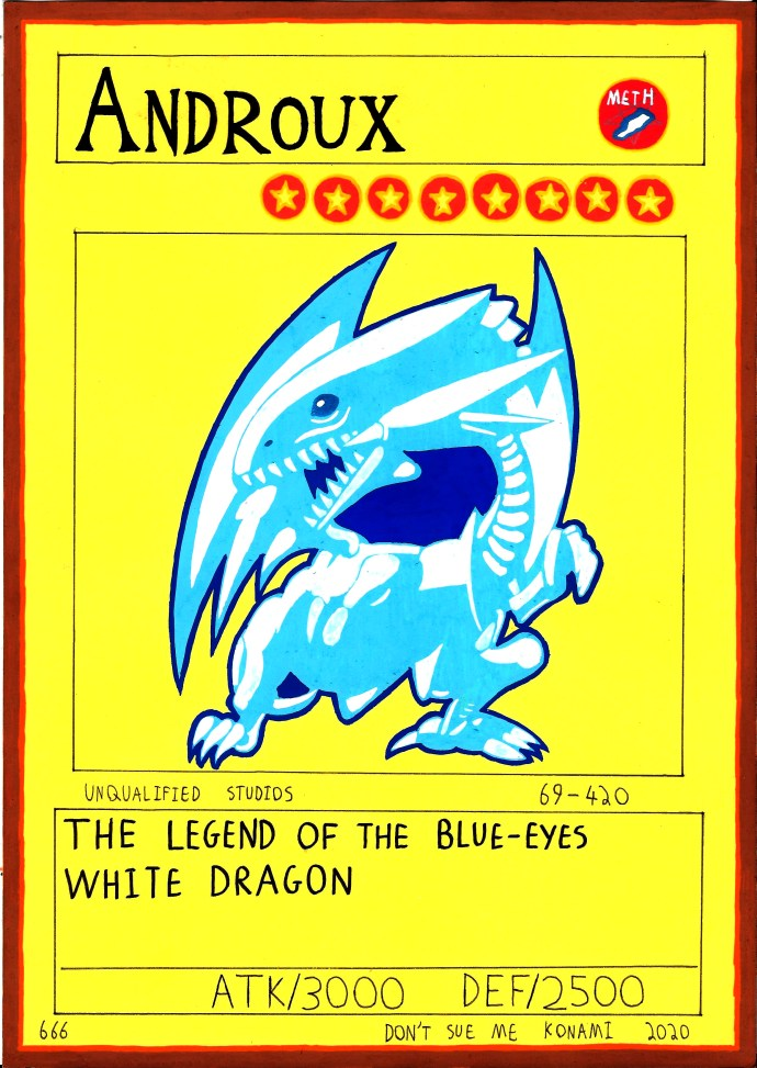 Androux: The Legend Of The Blue-Eyes White Dragon