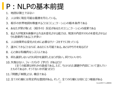 Leverage coaching to guide management philosophy and management strategy. table of contents 1. What is coaching? Basic premise of NLP