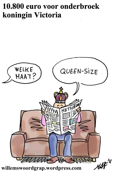Willems Woordgrap | Een cartoon van weinig woorden