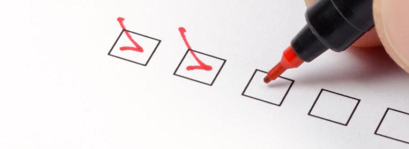 covid returning to work checklist