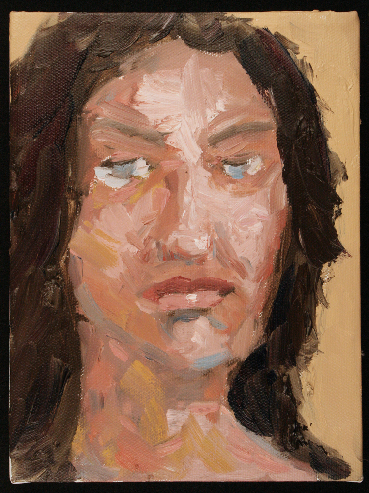 Expressive Portrait Painting Art Will Eskridge