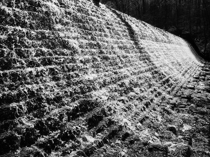 Waterfall Haiku Art Will Eskridge