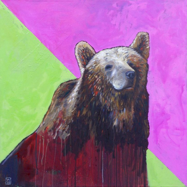 Caniformed – Grizzly Bear Art Print