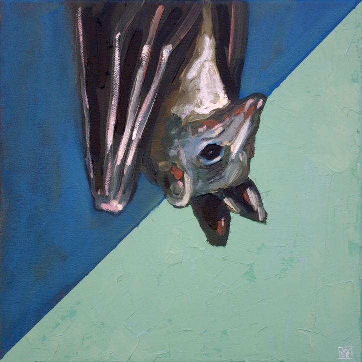 We Love The Night – Bat Art Print