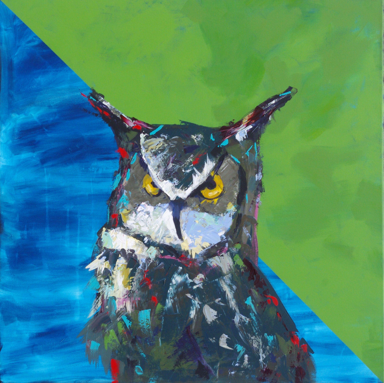 Wise Beyond His Years – Owl Art Print