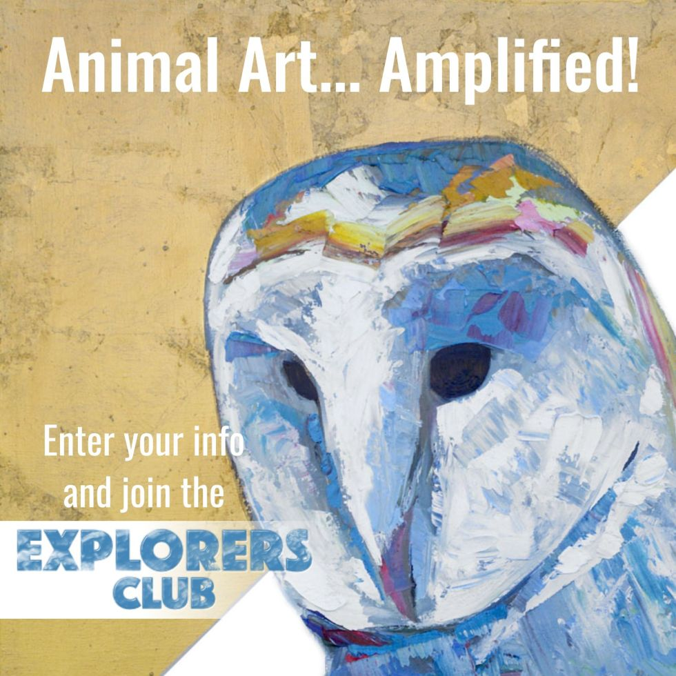 Will Eskridge animal artist art Email News Signup
