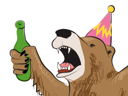 Party Bear IOS Sticker Pack 1.0.2 Is Now Available!