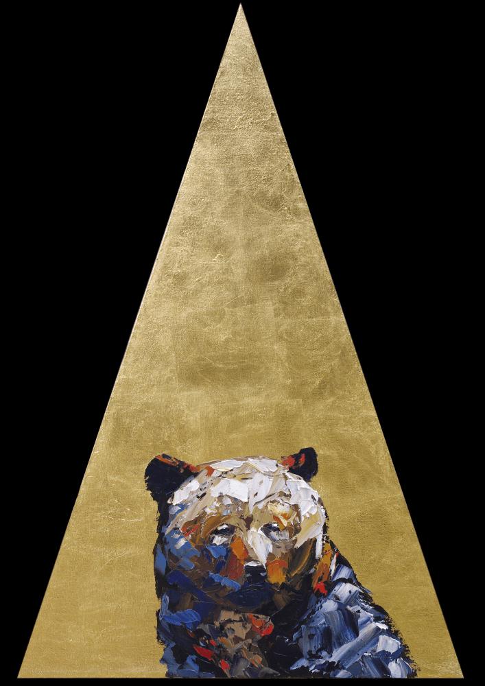 Early Phases Bear Portrait Painting Animal Artist Art Wildlife Will Eskridge