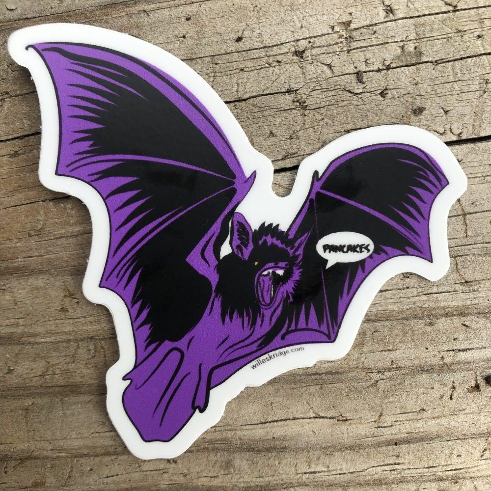 Pancake Bat Stickers