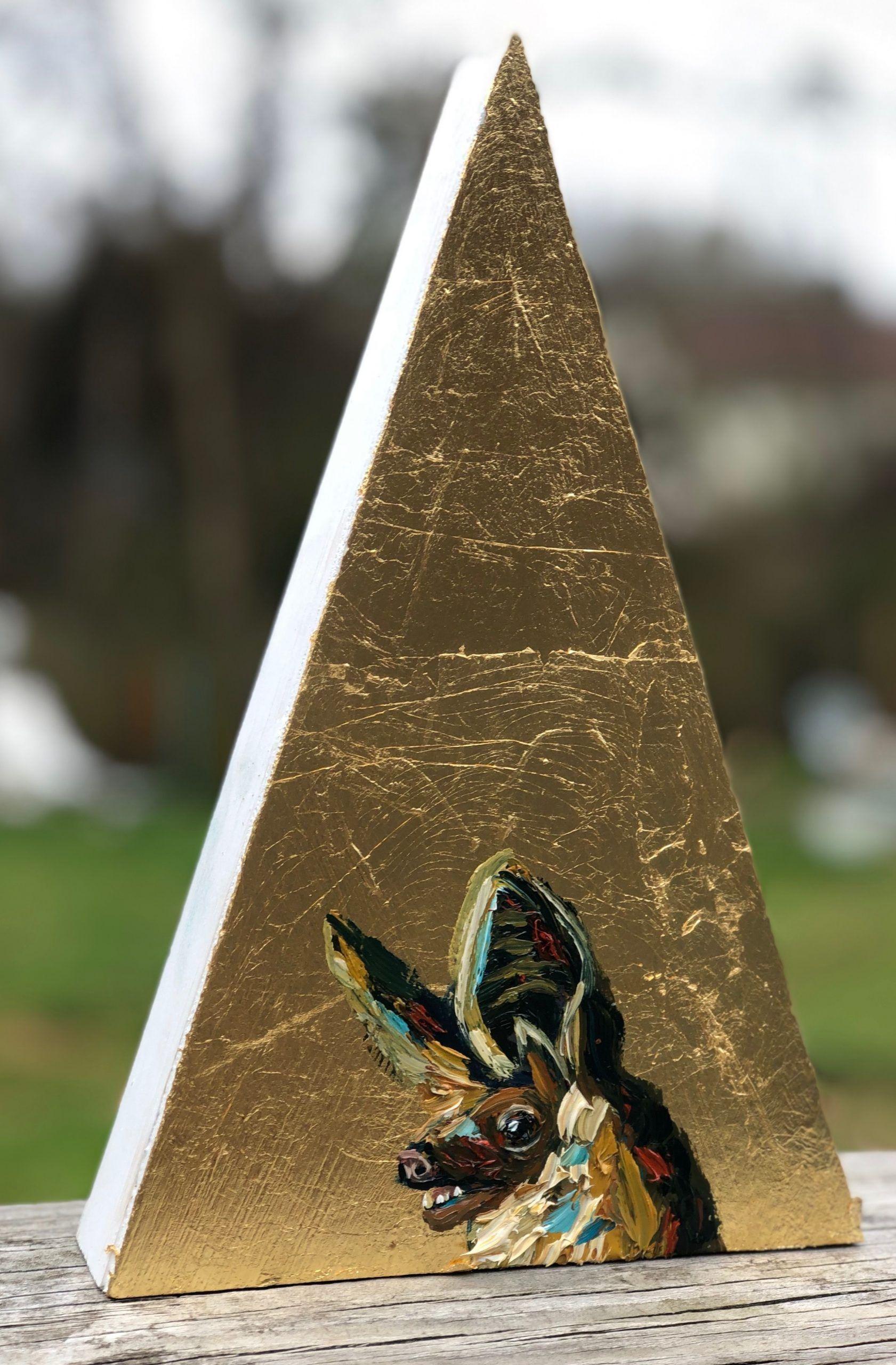 Aurum Antrozous Pallid Bat Animal Wildlife Painting Will Eskridg