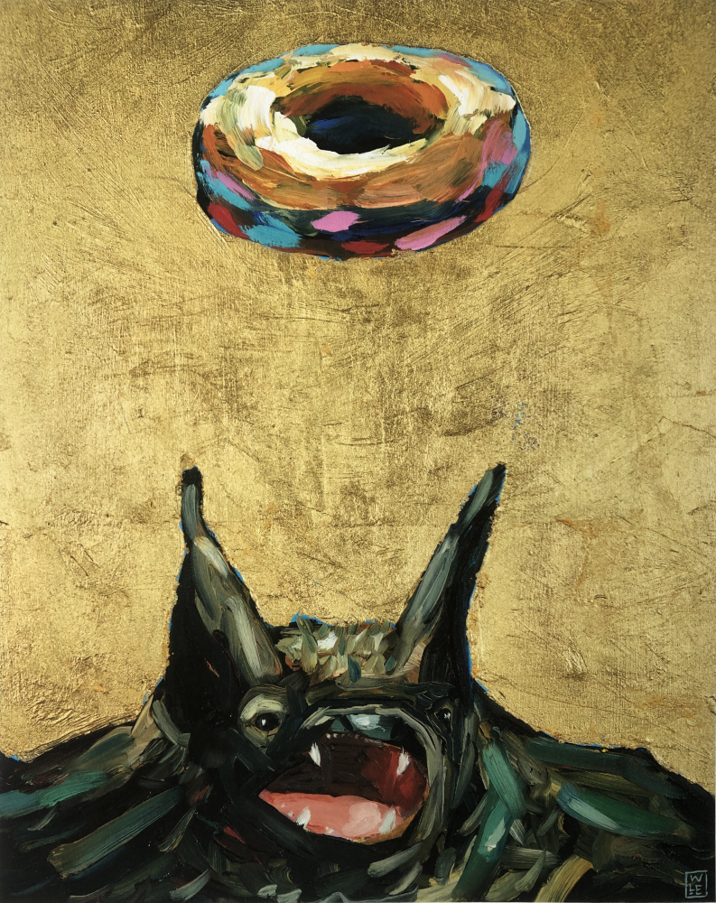 Simply Glazed Original Bat Donut Print