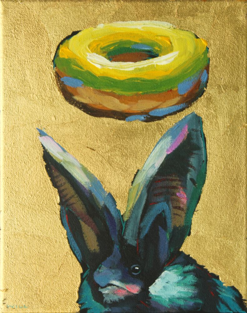 Donuts Will Save The World Archival Print (bat 2)