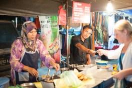 The Langkawi Night Market in Kuah
