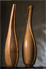 Echo & Song: Elegant wooden sculptures
