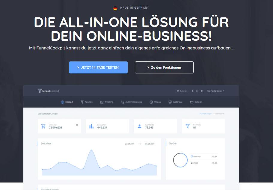 Deutsche all in Ohne Business-Lösung
