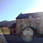 May on the West Highland Way, The Drover's Inn