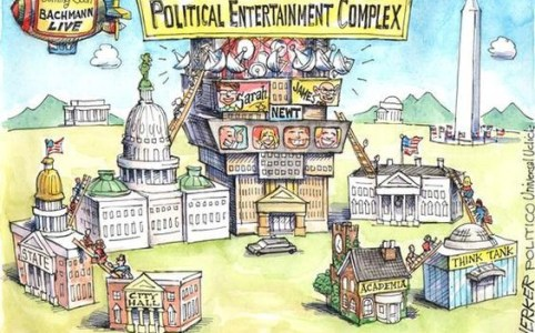 Politics as Entertainment_WilliamBairamian.me