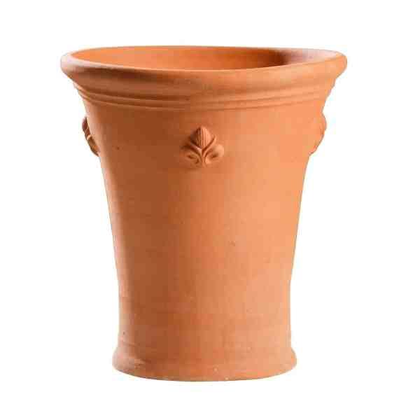 Lily pot with fleur de lys
