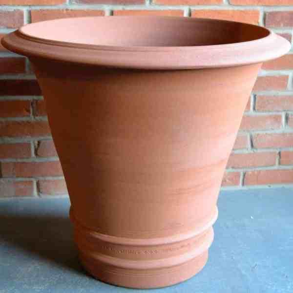 double banded flowerpot