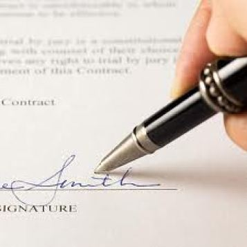 How to write a contingent offer to buy a business.