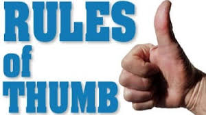 Using rules-of-thumb to estimate business value