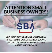 SBA COVID-19 Disaster Loans explained by William Bruce
