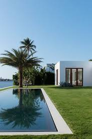 pool in lawn