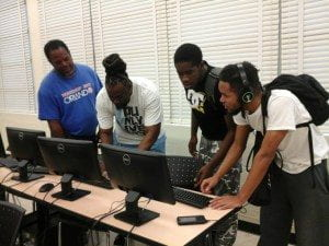 Educational Technology, Social Media and STEAM class at Edward Waters College