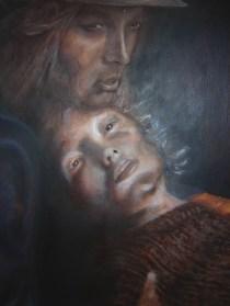 Les Miserables (Portrait of a Dying Woman), 2001