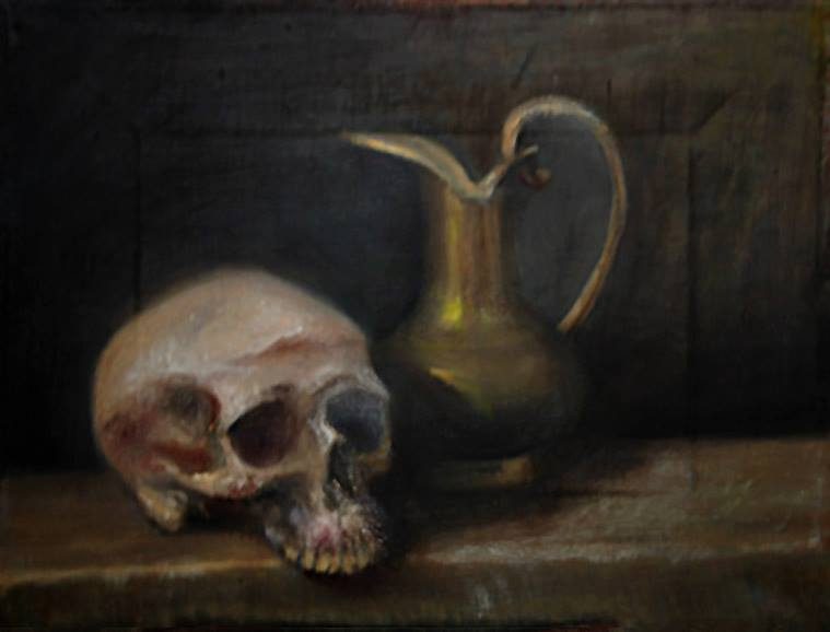 Vanitas with Pitcher, 2010
