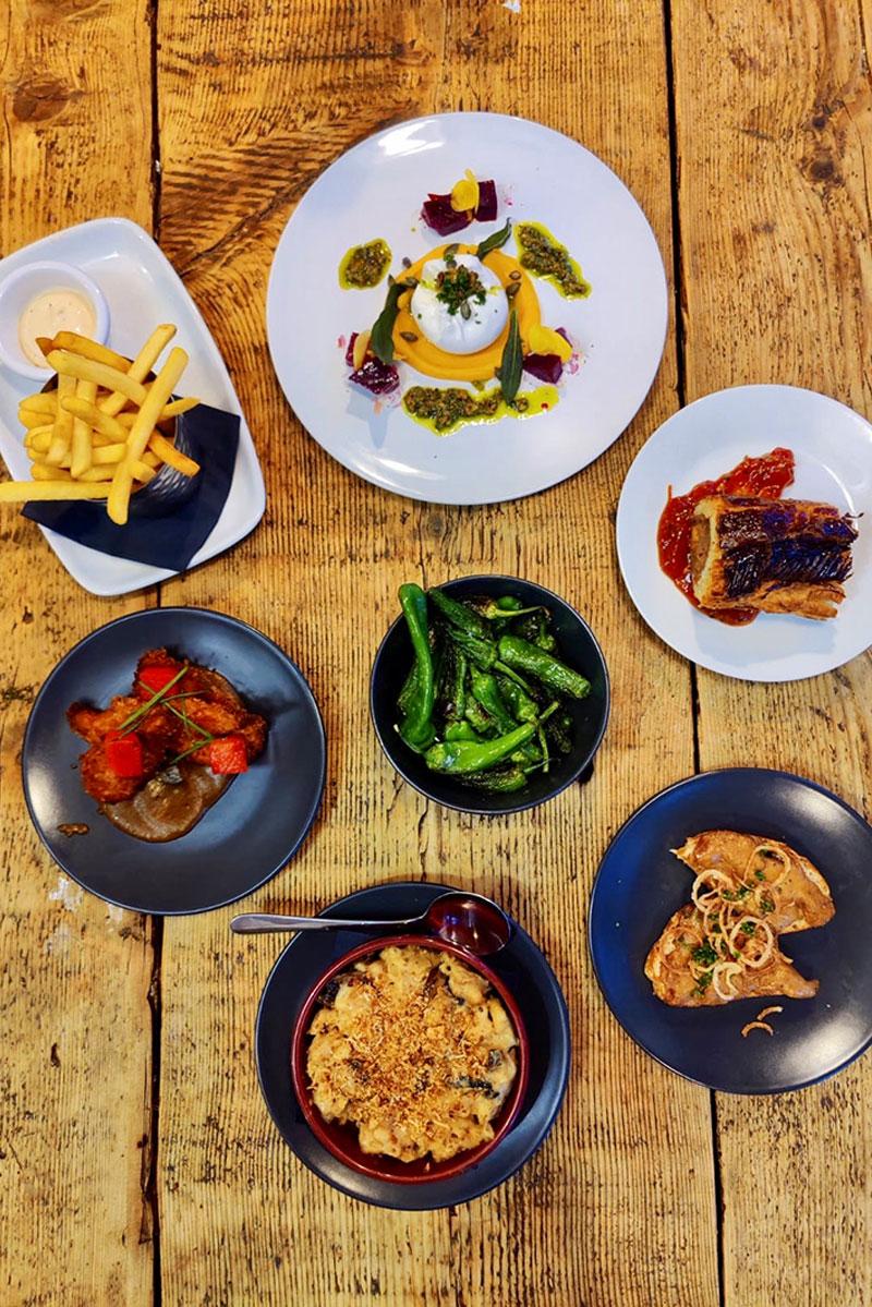 Gastro Pub food williamiv pub