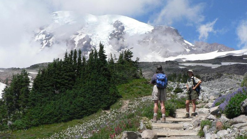 Another Memorable Trail Moment – Cascade Mountains