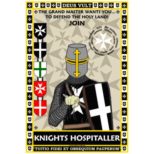 knights-hospitaller-recuritment-poster