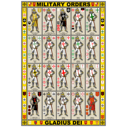 military-orders-knights-arms-poster