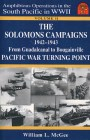Cover of The Solomons Campaigns, 1942-1943 by William L. McGee