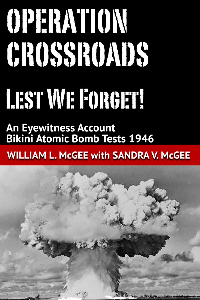 Cover Operation Crossroads 1946 by William L. McGee